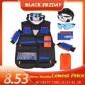 Enfants Tactique Gilet Costume Kit de Jeu De Plein Air Enfants Gilet Tactique Kit De Support Pour