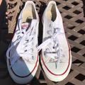 Converse Shoes | Chuck Taylor All Star Ox Casual Sneakers | Color: White | Size: 7