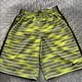 Nike Swim   Nike Boys Swim Trunks   Color: Green/Yellow   Size: Lb