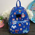 Disney Bags   Disney Parks Chibi Loungefly Mini Backpack   Color: Blue   Size: Os