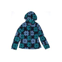 Arizona Jean Company Fleece Jacket: Teal Jackets & Outerwear - Size 10