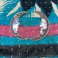 Anthropologie Jewelry | Man On The Moon Earrings Ss | Color: Black/Silver | Size: 1.5