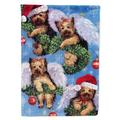 The Holiday Aisle® Iaeger Cavalier Spaniel Christmas Angel 2-Sided Polyester 1 x 0.11 ft. Garden Flag Theme: Yorike Angels Everywhere | Wayfair