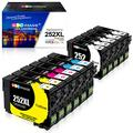 GPC Image Remanufactured Ink Cartridges Replacement for Epson 252XL 252 XL T252XL T252 (11 Pack) for Workforce WF-3640 WF-3620 WF-7710 WF-7610 WF-7720 WF-7110 WF-7210 Printer