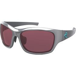 Ryders Eyewear AntiFOG Sports Sunglasses 100% UV Protection, Full Rim, Impact Resistant Sunglasses for Men, Women - Khyber (Grey Frame/Rose Lens)
