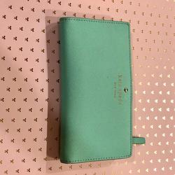 Kate Spade Bags   Kate Spade Slimline Leather Wallet   Color: Cream   Size: 4.5 X 7.75 Closed