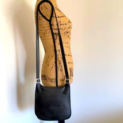 Coach Bags | Coach Vintage Slim Hippie Flap Leather Crossbody | Color: Black | Size: Os