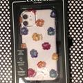 Coach Accessories | Nwt Coach Iphone11 Phone Case | Color: White/Yellow | Size: Os
