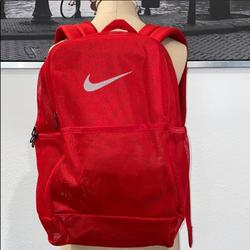 Nike Bags   New Nike Signature Mesh Backpack Small Defect   Color: Red   Size: Os