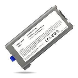 CF-VZSU46 CF-53 CF-31 CF-30 Replacement Laptop Battery for Panasonic Toughbook,Fit CF-VZSU46 CF-VZSU71U CF-VZSU72U CF-VZSU1430U CF-VZSU46S CF-VZSU46R CF-VZSU46U CF-VZSU46AU [10.65V 8550mAh 87Wh]
