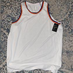 Nike Shirts   New Aeroswift New York Knicks Jersey   Color: Orange/White   Size: Xxl