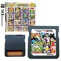 DS Games Card, 500 in 1 Cartridge Multicart. Compatible Nintendo DS, NDS, NDSL, 3DS, 2DS, XL LL, DS Lite.