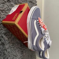 Vans Shoes | Band New Grey Blue Tone Old Skool Vans | Color: Blue/Gray | Size: 7.5