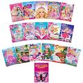 Barbie 16-Movie DVD Collection: Pearl Princess/Puppy Chase/Mariposa/Princess Power/Perfect Christmas/Xmas Carol/Princess Pauper/Diamond Castle/Charm School/Secret Door + More AND Bonus Finger Puppet