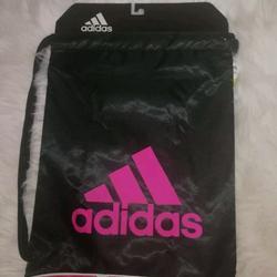 Adidas Bags   Adidas Burst Ii Blackpink Sport Bag Training Sack   Color: Black/Pink   Size: Os