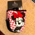 Disney Holiday | Disney Minnie Mouse Mini Mitts Set | Color: Black/Red | Size: Small