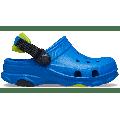 Crocs Bright Cobalt Kids' Classic All-Terrain Clog Shoes