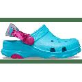 Crocs Digital Aqua Kids' Classic All-Terrain Clog Shoes