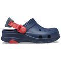 Crocs Navy Kids' Classic All-Terrain Clog Shoes