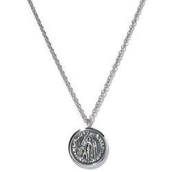 Tom Wood Collier à pendentif pièce de monnaie motif ange