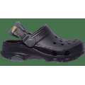 Crocs Black Kids' Classic All-Terrain Clog Shoes