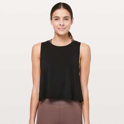Lululemon Athletica Tops   Lululemon X Soulcycle Ride And Reflect Crop Tank   Color: Black   Size: 4