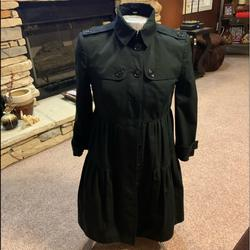 Burberry Jackets & Coats   Burberry Trench Coat Black Coat   Color: Black   Size: 6