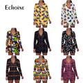 Echoine – combinaison Sexy pour femme, vêtement de nuit pour adulte, imprimé de dessins animés,