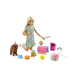 Barbie Doll Accessories - Barbie Puppy Party Blonde Hair Doll Set