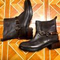 Coach Shoes | Coach 100% Authentic Equestrian Biker Boot | Color: Brown | Size: 9