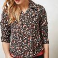 Anthropologie Jackets & Coats | Hei Hei Tinsley Moto Jacket Floral Print Anthro | Color: Black | Size: 6