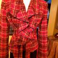 Anthropologie Jackets & Coats | Anthroplogie Bright Tweed Jacket 6 | Color: Pink/Purple | Size: 6