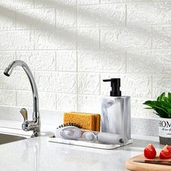 ZCCZ Sponge Holder & Soap Dispenser in White, Size 7.0 H x 9.0 W x 5.1 D in   Wayfair X002ISVEE9