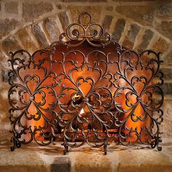 Lyon Fireplace Screen - Frontgate