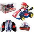 Carrera RC Nintendo Mario Kart 2.4 GHz Mini Collectible Radio Remote Control Toy Car Vehicle - Mario