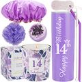 14th Birthday Tumbler, 14th Birthday Gifts for Girl, 14 Birthday Gifts, Gifts for 14th Birthday Girl, 14th Birthday Decorations, Happy 14th Birthday Candle, 14th Birthday Party Supplies