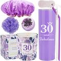 30th Birthday Tumbler, 30th Birthday Gifts for Women, 30 Birthday Gifts, Gifts for 30th Birthday Women, 30th Birthday Decorations, Happy 30th Birthday Candle, 30th Birthday Party Supplies