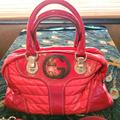 Gucci Bags | Gucci Red Patent Dialux Snow Glam Med Hobo Bag | Color: Red/Silver | Size: Approx 16 W X 9 H