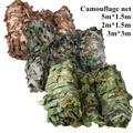 Filets de Camping de Camouflage militaires 5x1.5M 3x3M 2x1.5M, tentes pour la chasse, auvent
