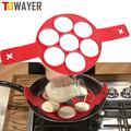 Towayer – cuiseur à œufs antiadhésif, ustensile de cuisine en Silicone, moule à crêpes, fromage,