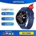 Cubot W03 Montre Connectée Femmes Homme 1,28 Pouces Smartwatch Montre Sport Podometre