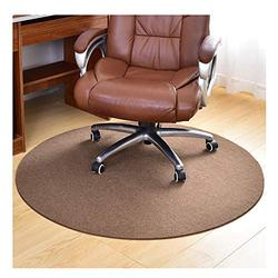 Office Chair Floor Mat, Office Chair Mat, Round Floor Mat, Hard Floor Chair Mat, Computer Desk Mat for Hardwood Floor, Office Chair, Professional Protective Mat for Floor Pro(Size:100cm(39in),Color:C)