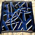 Louis Vuitton Accessories | Louis Vuitton Love Silk Square Scarf | Color: Black/Blue | Size: 35x35