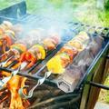 ihometea 12In Stainless Steel Outdoor Wood Pellet Grill Smoker Filter Tube Pipe Smoke BBQ, Size 12.0 H x 12.0 W x 2.2 D in | Wayfair