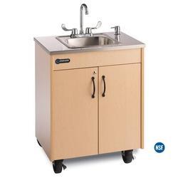 "Ozark River Portable Sinks Ozark River Lil' Premier 1 26"" x 18"" Portable Handwash Station w/ Faucet, Size 30.0 H x 26.0 W x 18.0 D in   Wayfair"