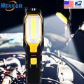 Lampe de poche Portable USB à LED, livraison directe, lampe de travail Rechargeable COB, torche