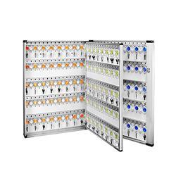 QERNTPEY Key Cabinet 305 Key Cabinet Lock Box Key Cabinet of Combination Lock Wall Mount Lock Box Convenient Storage (Color : White, Size : 74.5X5.2x10.1cm)
