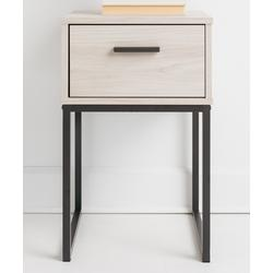 Signature Design by Ashley Furniture Nightstands Natural - Natural Wood Socalle One-Drawer Nightstand