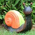 ZHENGYU Garden Sculpture Outdoors Garden Resin Statue Decoration Cartoon Snail Style Statue Crafts Outdoor Statue Outdoor Decoration Model Furnishings Patio Lawn Decoration Gift (Color : B)