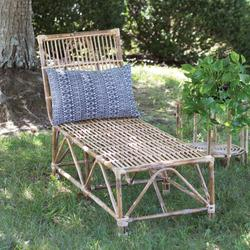 Rattan Chaise Lounge Chair - CTW Home Collection 460326